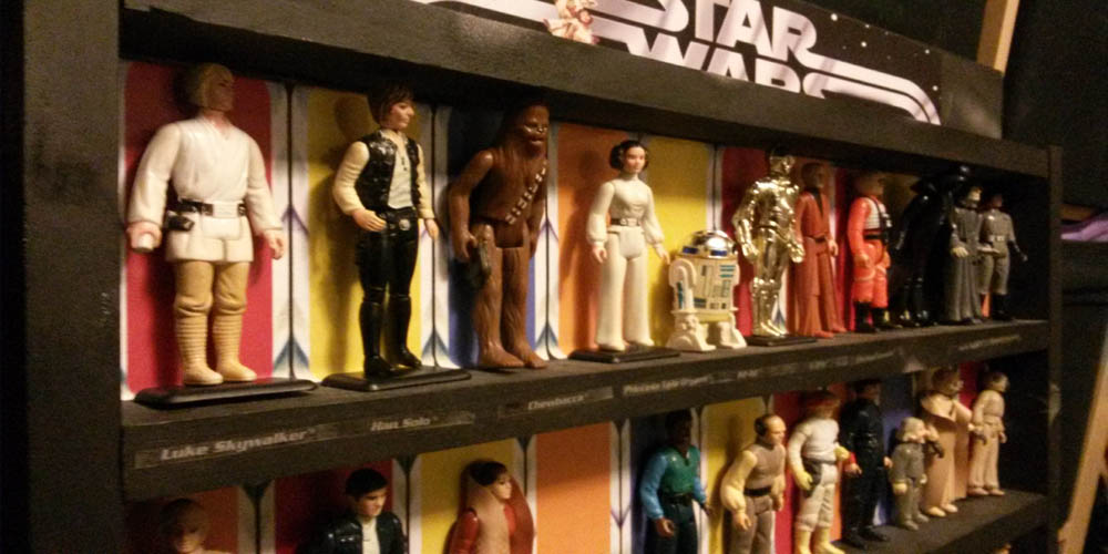 Geek DIY Action Figure Display