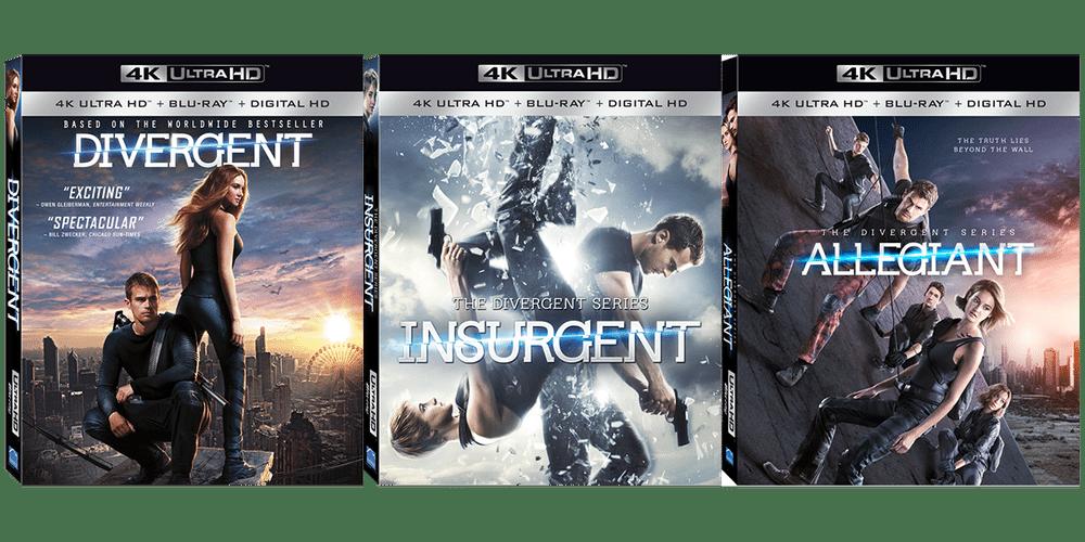 Giveaway: 'Divergent' Series 4K UltraHD Bundle