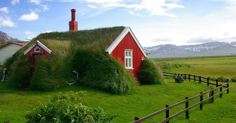 Iceland house PD