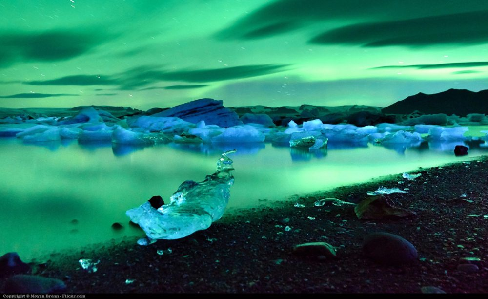 Iceland northern lights by Flickr user Moyan Brenn (CC BY 2.0)