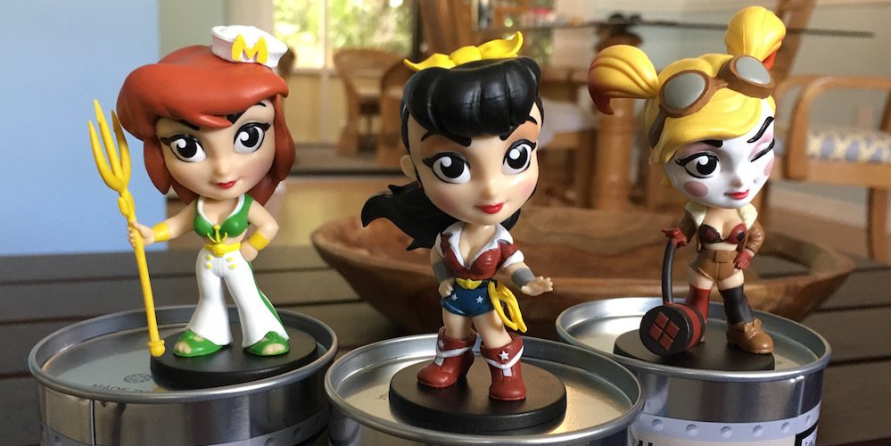 'DC Comics Lil' Bombshells' From Cryptozoic on Sale at SDCC