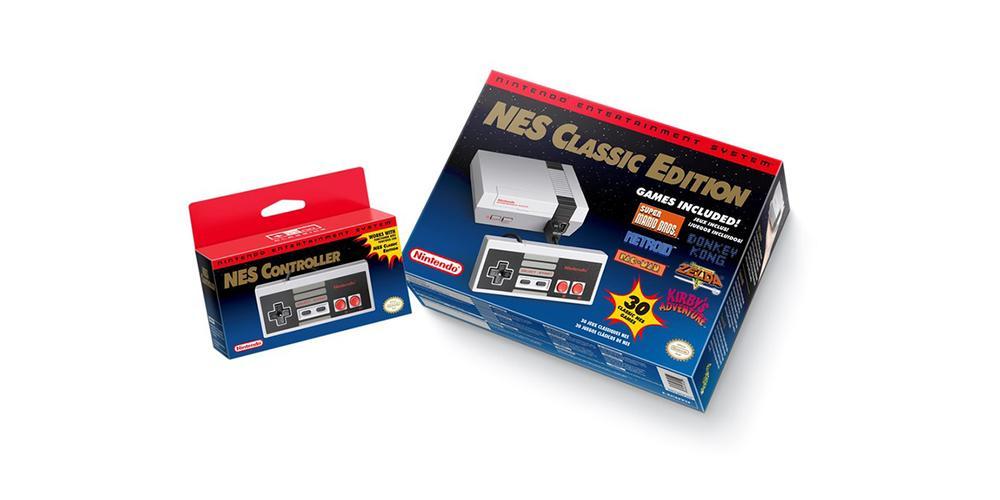 NES Classic Edition box art