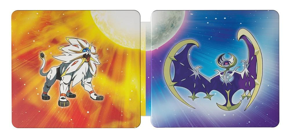 Pre-order the 'Pokemon Sun' and 'Moon' Steelbook Dual Pack