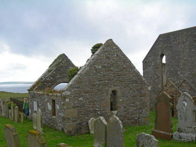 Shapinsay Graveyard, Orkney Islands, by C Michael Hogan (CC BY-SA 2.0)