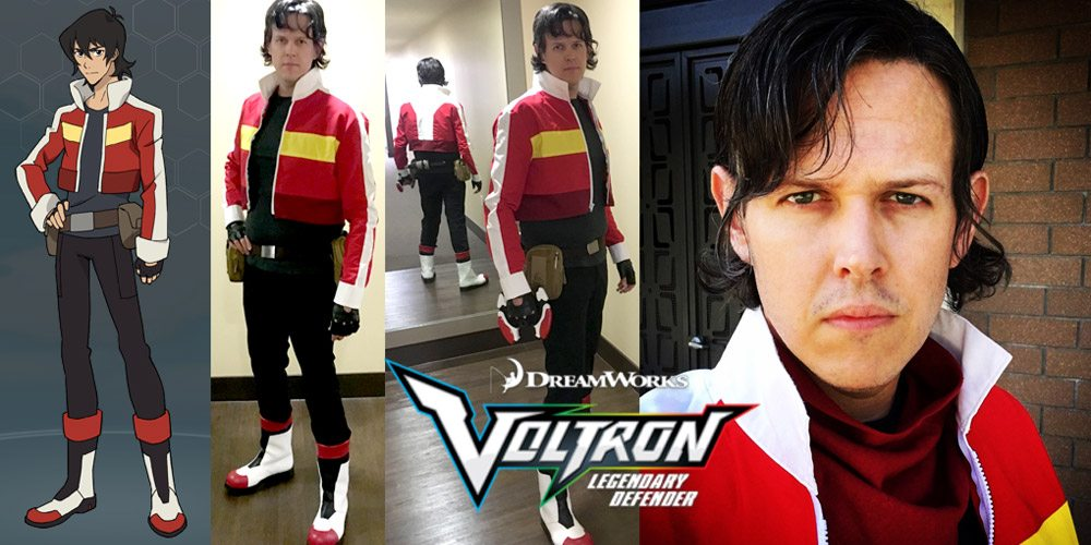 Completed Cosplay: Keith From 'Voltron: Legendary Defender'