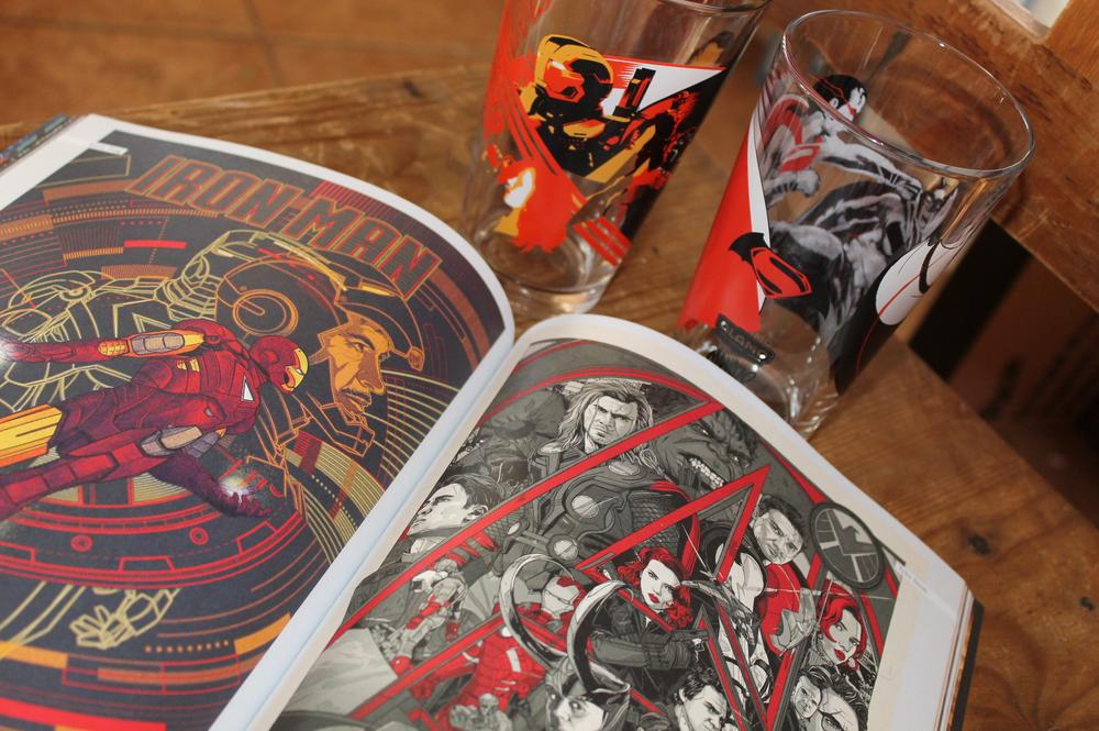 Limited edition pint glasses, movie books and other geeky collectibles are only part of reason so many movie geeks love the Alamo Drafthouse experience. Image by Lisa Kay Tate
