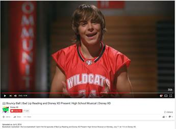 Disney XD: 'Bad Lip Reading'/'High School Musical' Special