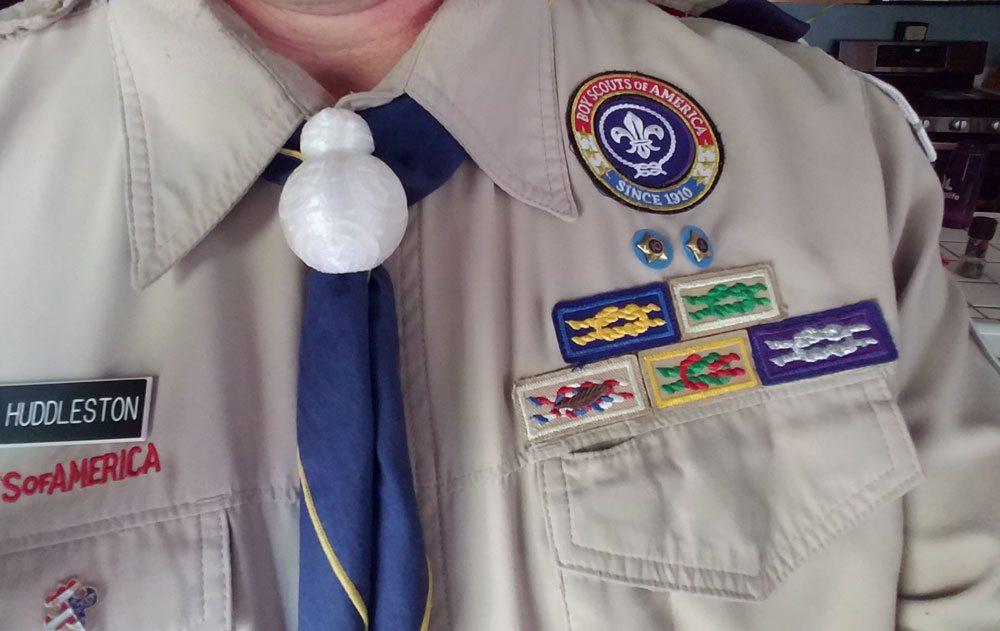 BB-8 Boy Scout neckerchief slide