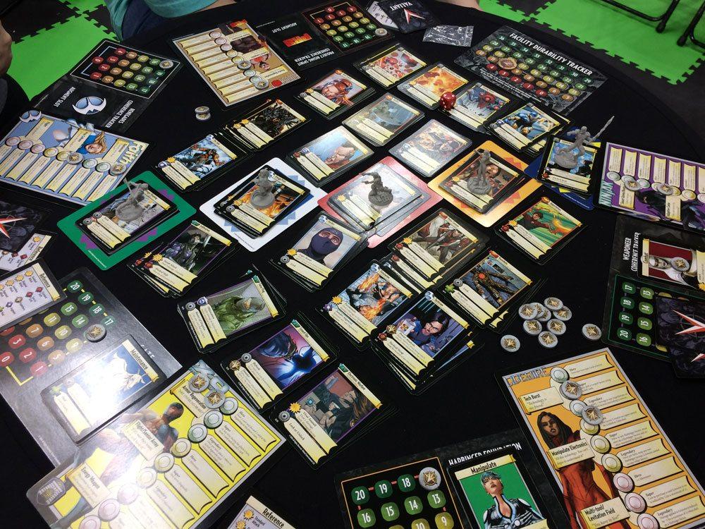 Valiant Universe Deck-Building Game