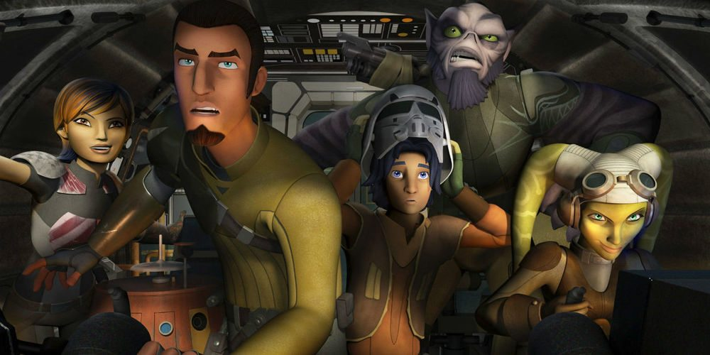 Review: 'Star Wars Rebels' Season 2 Blu-Ray (and Some Swag)