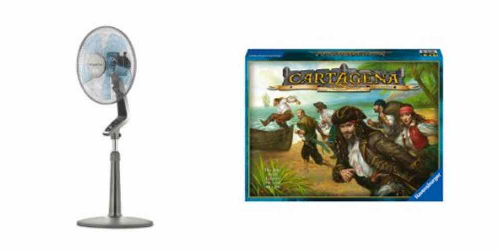 Save Money and Keep Cool With a 16″ Fan, Enjoy Family Gaming With 'Cartagena' – Daily Deals