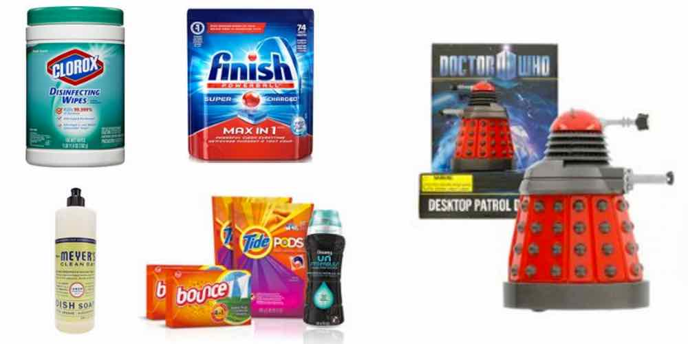 Save Big on Fall Cleaning Supplies, Exterminate Work With the Dalek Desktop Patrol Figure – Daily Deals!