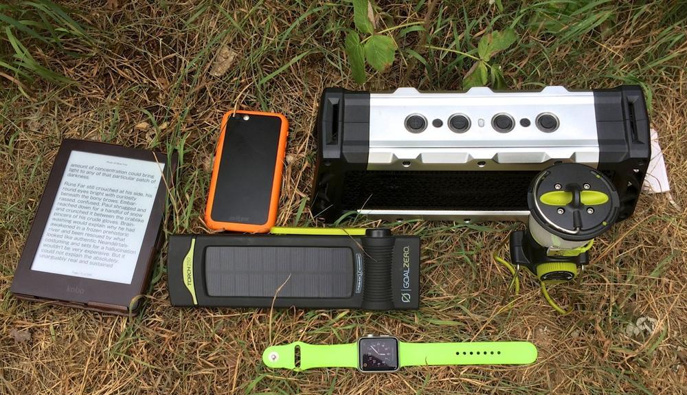 Camping Tech Gear Roundup