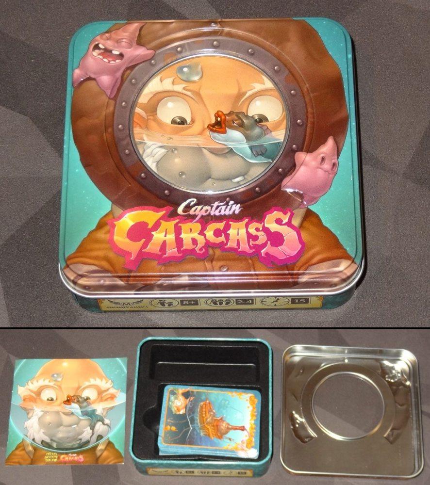 Captain Carcass tin