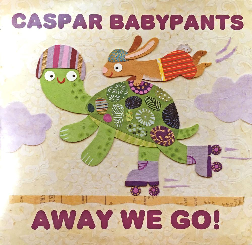 Music Review: 'Away We Go!' by Caspar Babypants