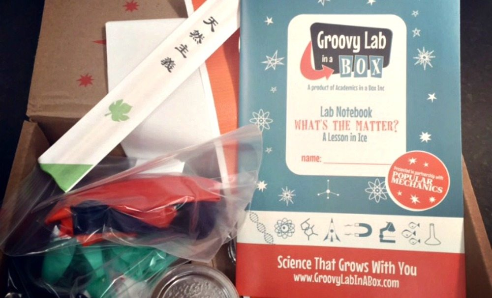 Groovy Lab in a Box, STEM, STEAM, monthly subscription kit, science, math, engineering, homeschooling, homeschooler, enrichment, experiments, curriculum, popular mechanics, engineering