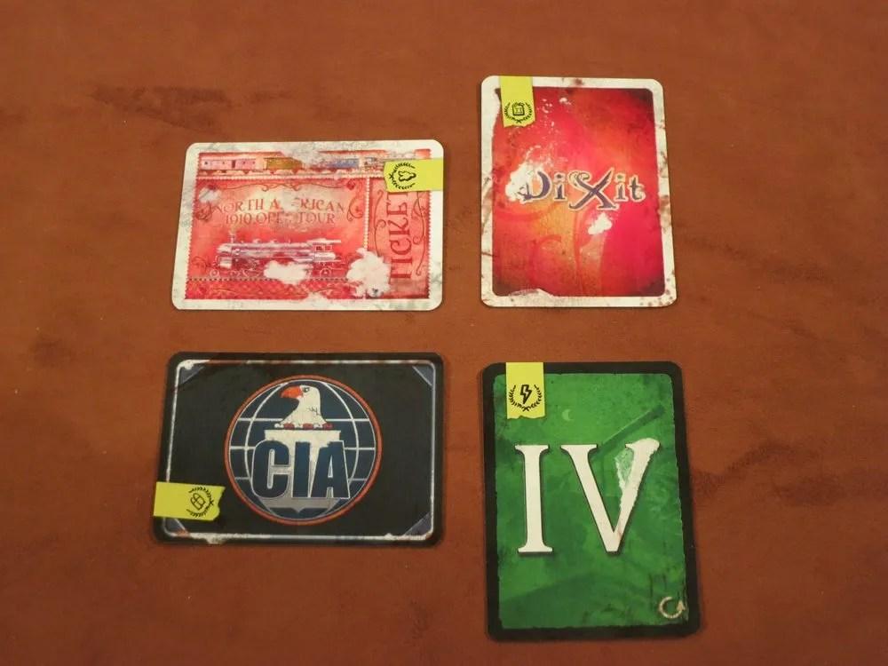 Epilogue Cards.