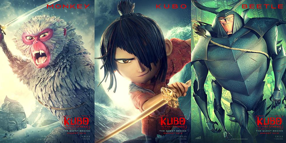 'Kubo and the Two Strings' Available Now