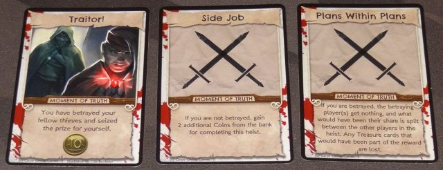 No Honor Among Thieves Moment of Truth cards