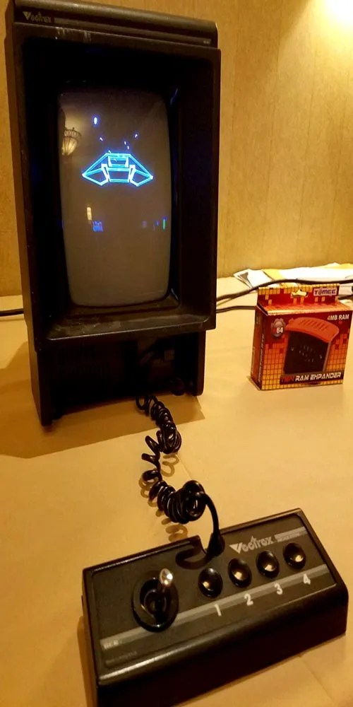 A classic Vectrex Home Video Game Console