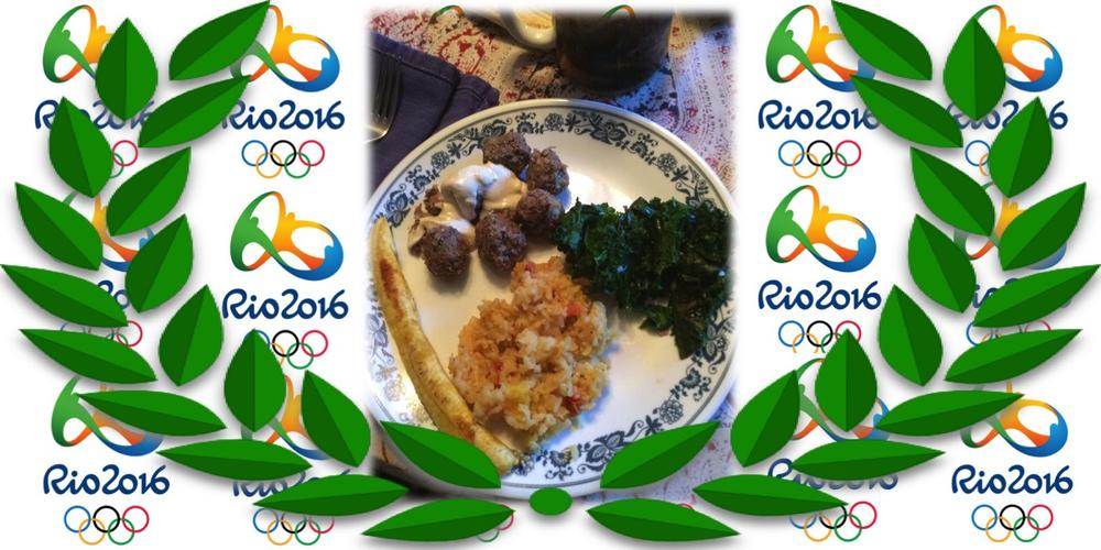 Olympic Foodie Family