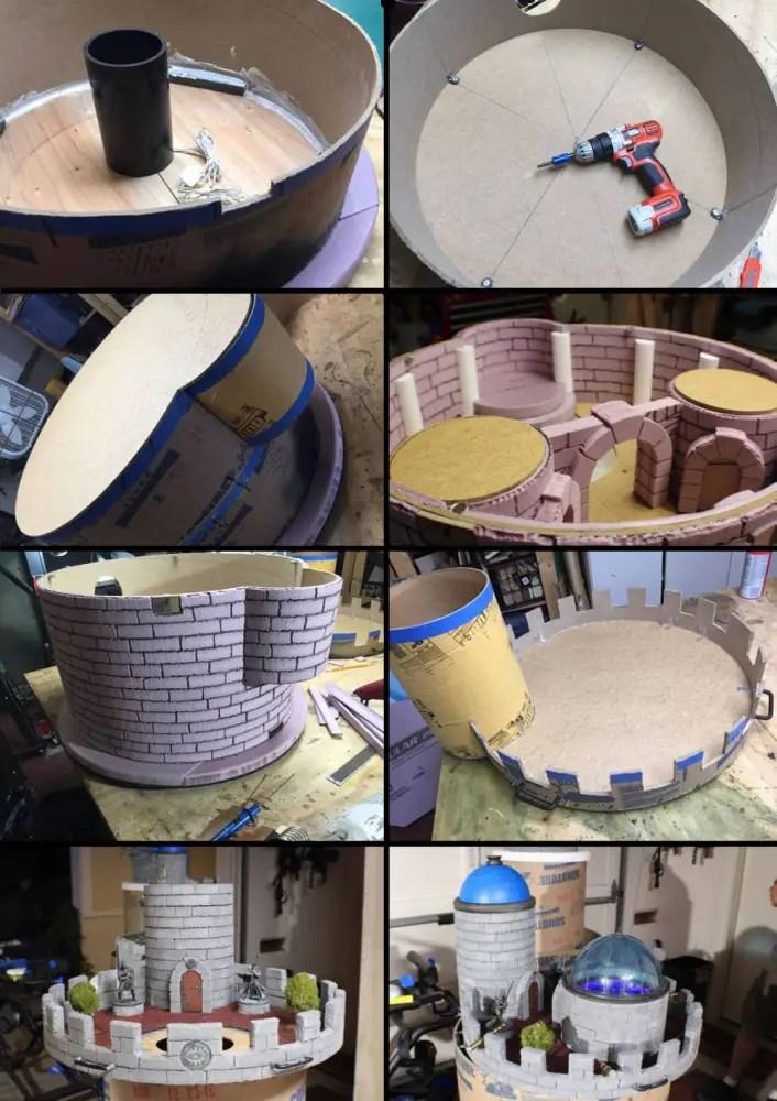 Main Tower Build Process