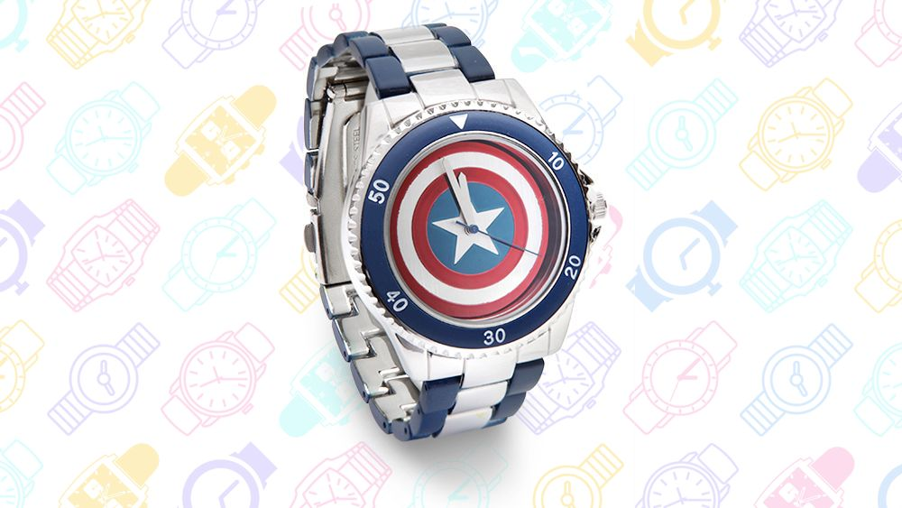 13 Geeky Watches: Captain America Watch