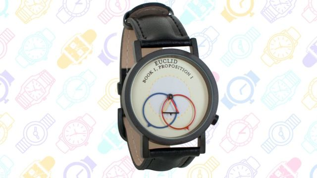 13 Geeky Watches: Euclid's Proposition 1