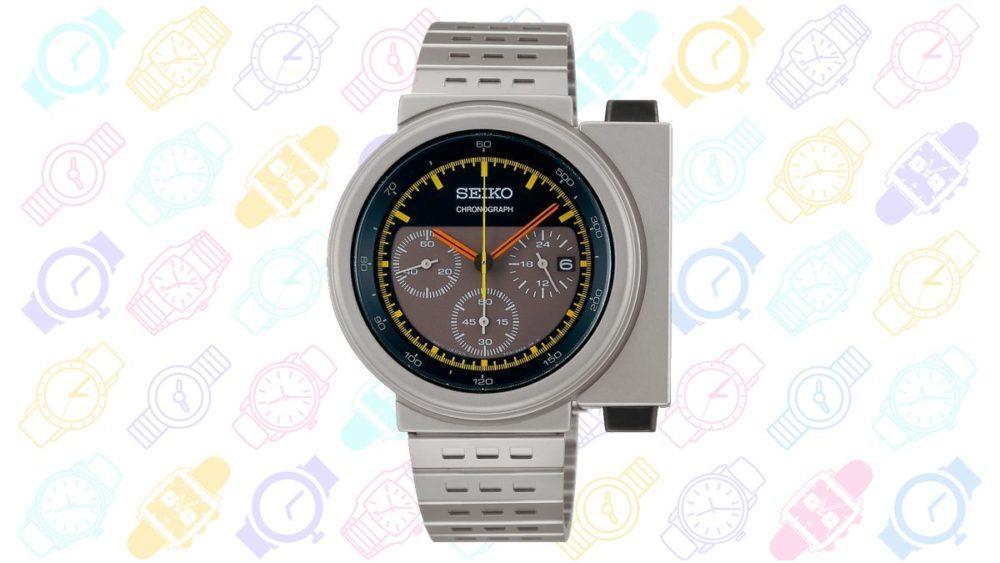 13 Geeky Watches: Seiko X Giugiaro Design Spirit Smart