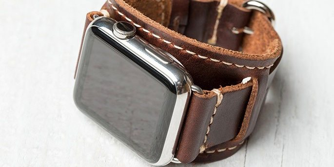 Wear the Apple Watch With Style With the Lowry Cuff