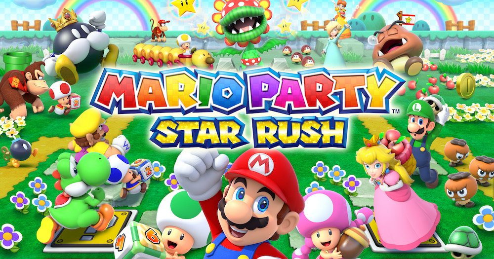 The Stars and the New Nintendo 3DS Galaxy Align in 'Mario Party Star Rush'