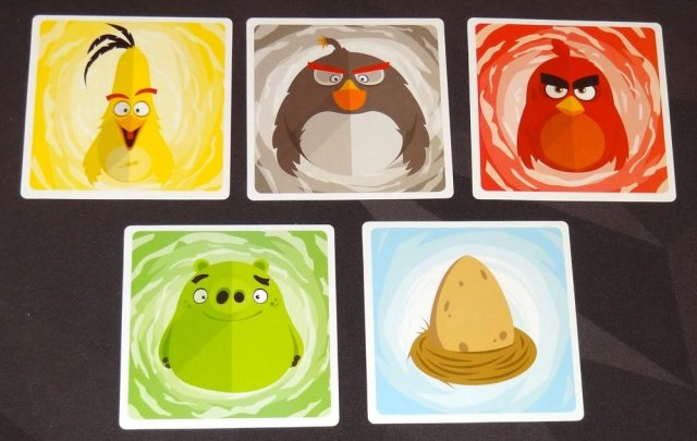 Angry Birds Gobbit cards