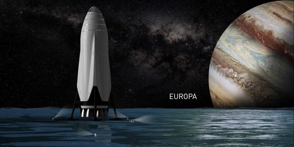 Space X Europa