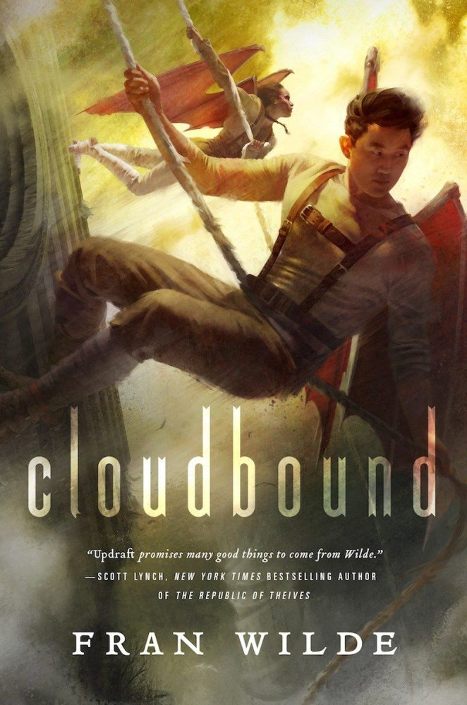 GeekMom Fran Wilde's Cloudbound, the sequel to the award-winning Updraft, is out 9/27