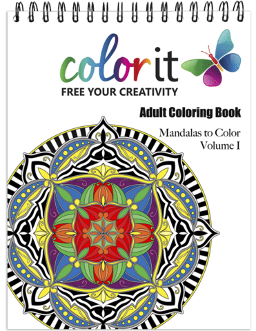 Colorit Adult Coloring Book Review