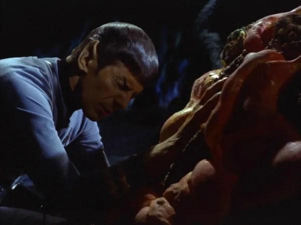 screen cap of Star Trek: Devil in the Dark