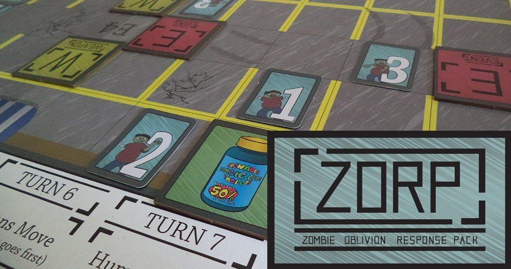 ZORP (Zombie Oblivion Response Pack) Game