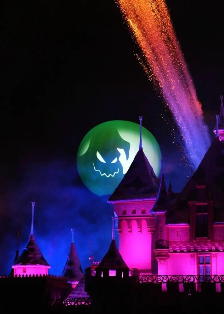 Halloween fireworks at Disneyland