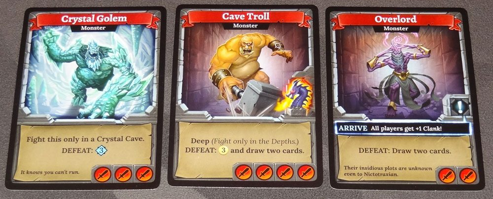 Clank! monsters