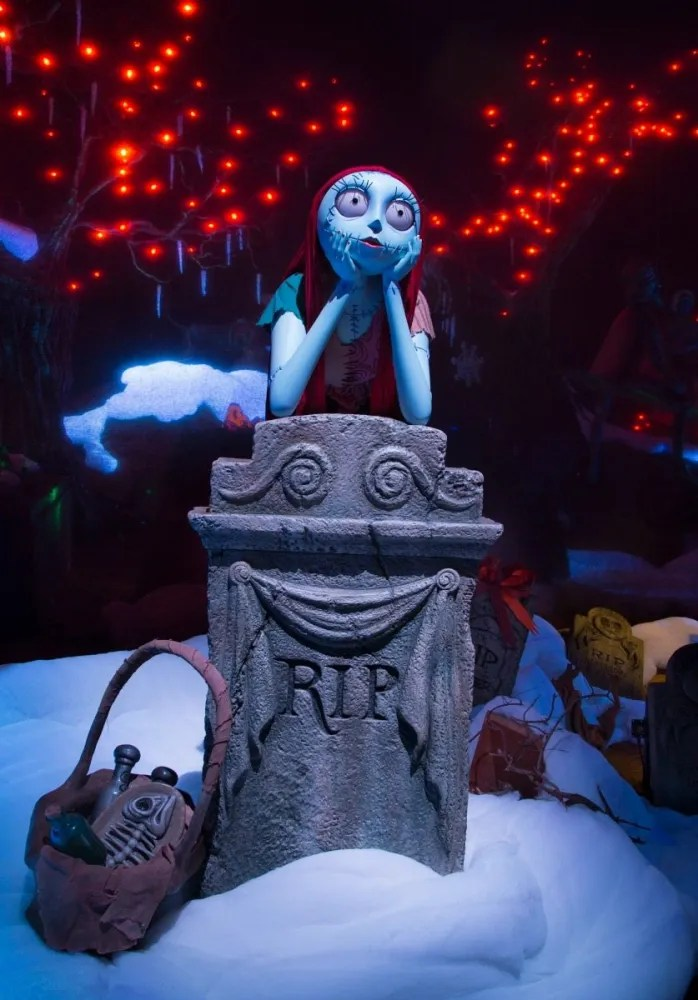 Sally in the Haunted Mansion Holiday