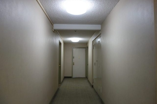 A normal boring hallway