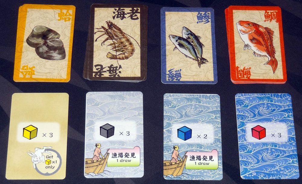 Isaribi fish cards