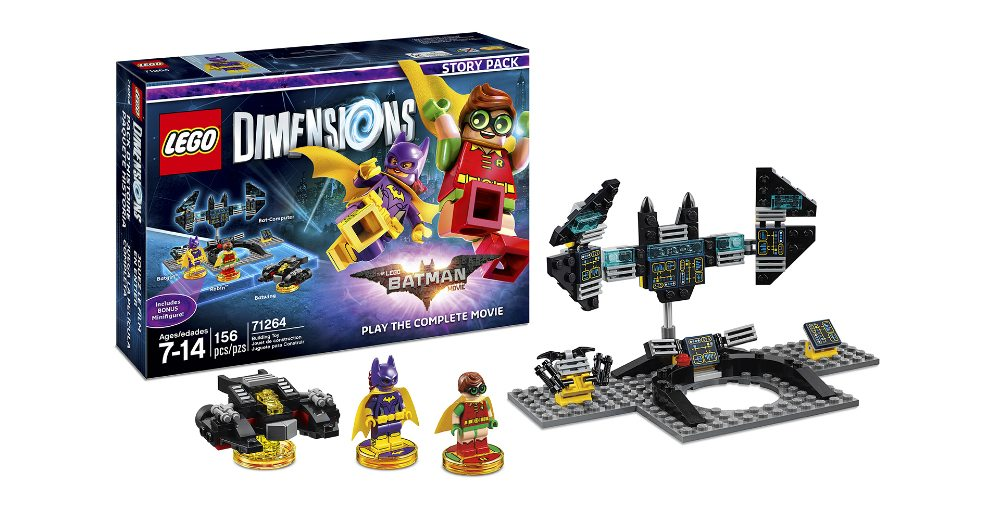 Lego Dimensions Batgirl and Robin