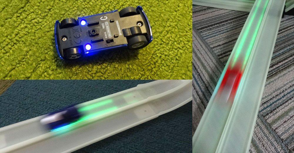 Tracer Racer lights