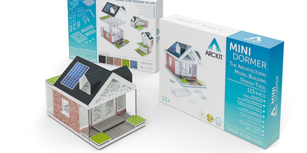 The Arckit Mini Dormer kit features design elements that are new to the system.