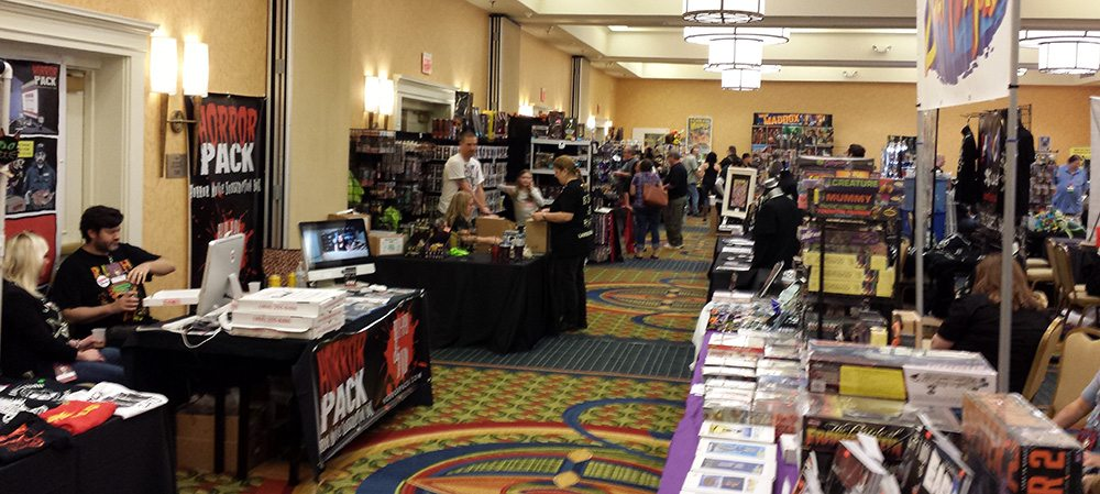 Monsterama Horror Convention Vendors