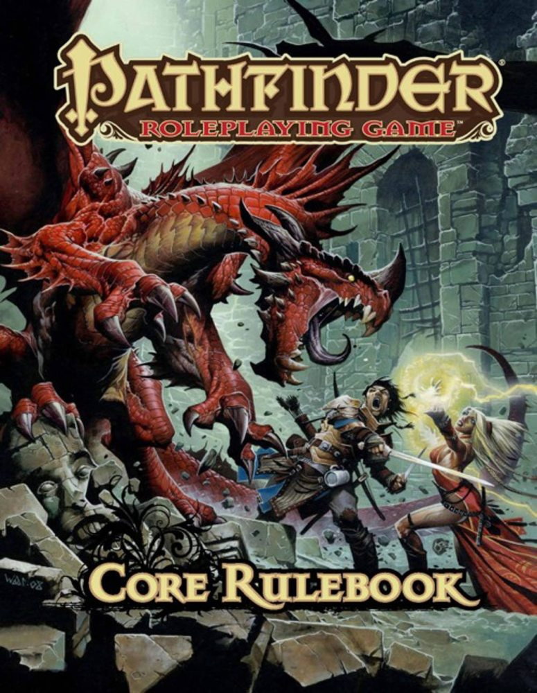 Core Rulebook Cover Art