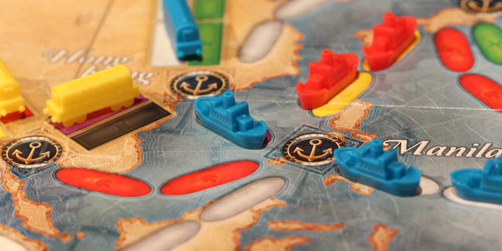 'Ticket to Ride' Is Off the Rails With a New Game that Goes to Sea, Too!