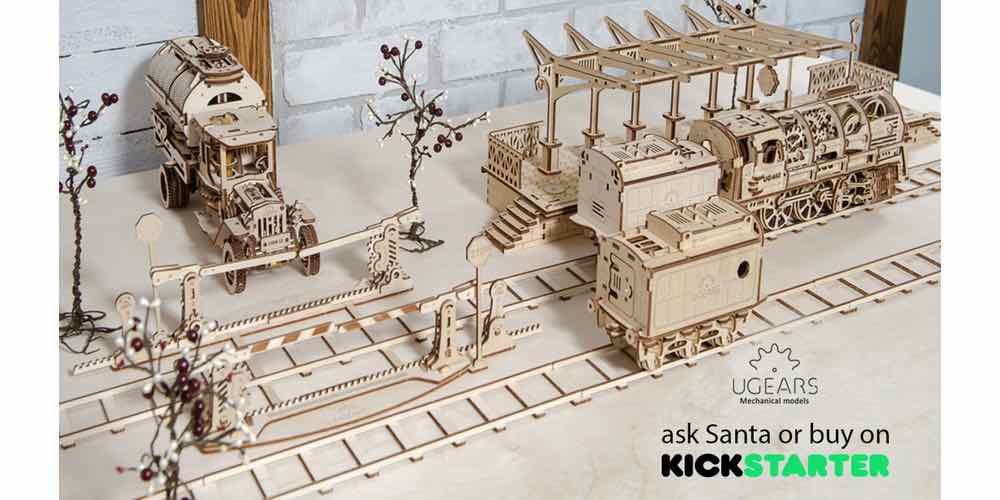 Kickstarter Alert: Enjoy UGEARS Christmas Mechanical Symphony (Sponsored)