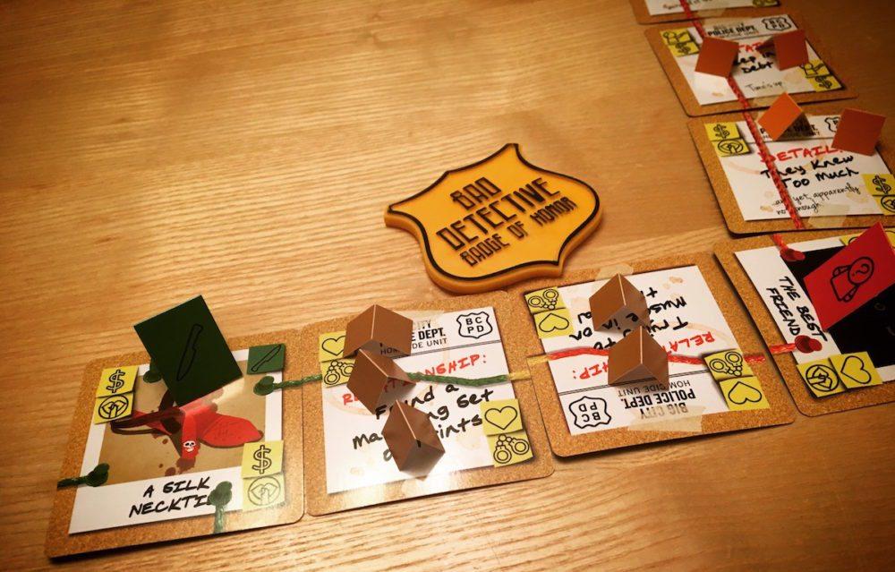 Bad Detectives board game